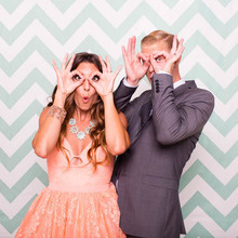 Photo booth family photos by Acqua Photo