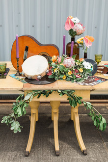 70s inspired wedding inspiration