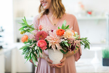 summer floral arrangement