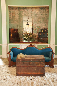 Wedding lounge area