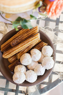 Churros wedding dessert