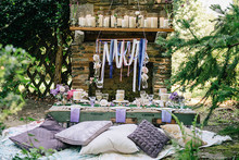 Woodland bridal shower
