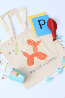 balloon animal tote