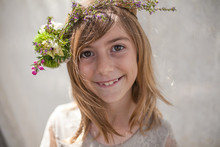 girls flower crown