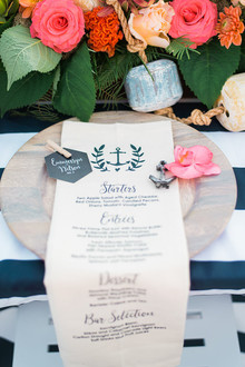 Nautical place setting