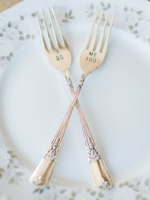 Customized silverware