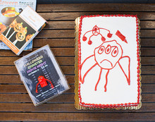 custom kids drawing cake