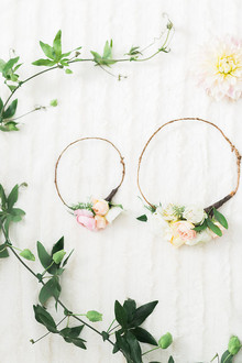 flower crowns for mom and baby