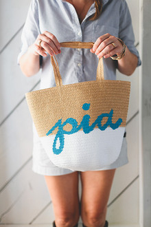 DIY painted tote