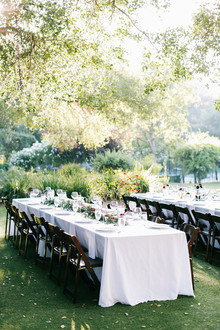 Saddle Rock Ranch wedding reception