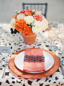 Geometric place setting