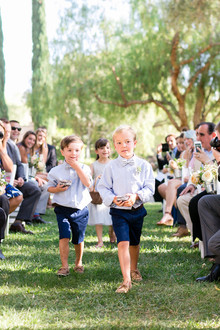 Ring bearers portrait