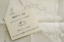 Ranch wedding invitation