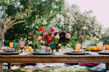 Bohemian bridal shower