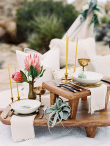 Desert boho wedding ideas