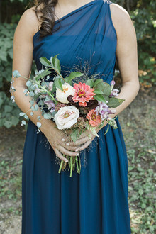 Navy bridesmaid dresses