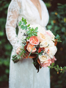 Rose bridal bouquet
