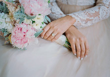 Modern wedding nails