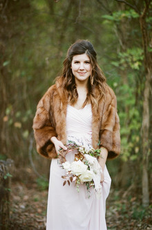 Cozy winter wedding inspiration