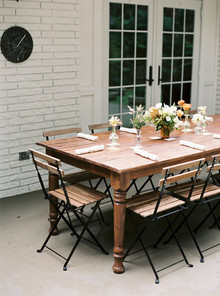 farmhouse table baby shower
