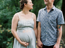 outdoor maternity photos