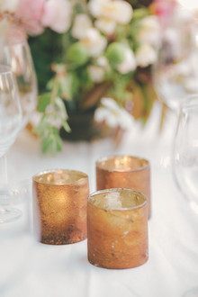 Copper votives