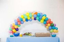 Colorful baby shower