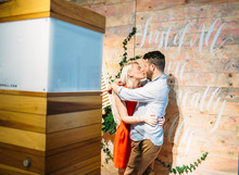 Crate and Barrel wedding event hosted by 100 Layer Cake