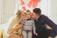 Italian Valentine's Day family shoot