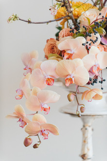 Organic wedding florals