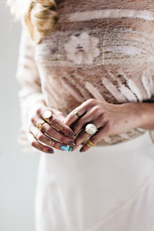 Moroccan bohemian wedding jewelry