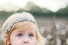 sparkly girl's headband