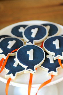 First birthday cookies