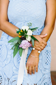 Bridesmaid's florals