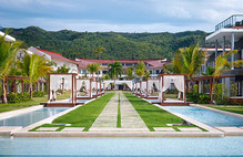 Sublime Samana pool in Dominican Republic