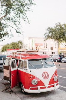 Volkswagen bus photo booth