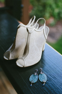 Modern wedding shoes