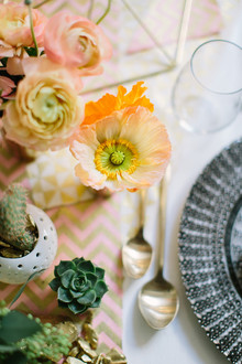 California boho chic baby shower