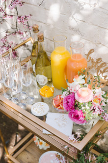 easter brunch bubbly bar