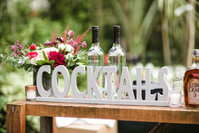 Cocktail signage