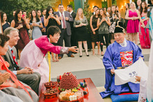 Traditional chineese tea ceremony