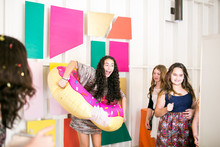 Modern, colorful Bat Mitzvah at the Lombardi House