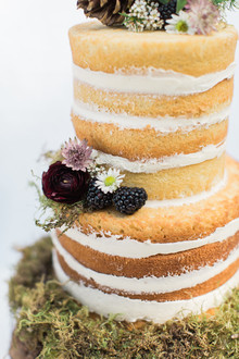 naked layer cake