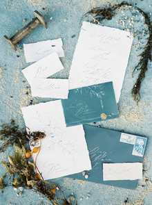 Seaside invitation inspiration