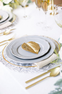 Gray and gold wedding ideas