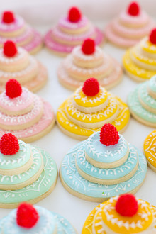 colorful desserts