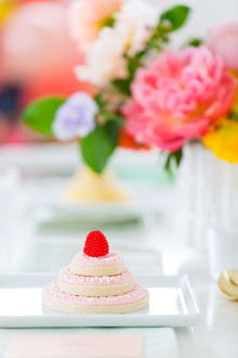 colorful bridal shower
