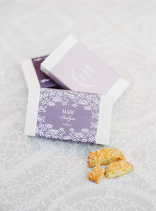 Classic escort card favors