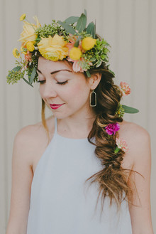Flower crown workshop