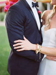 Modern Arizona wedding